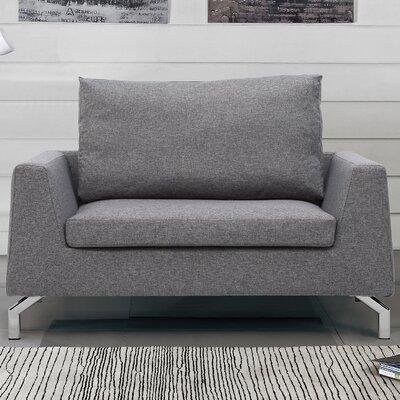 Almondsbury Loveseat Upholstery: Taupe Gray