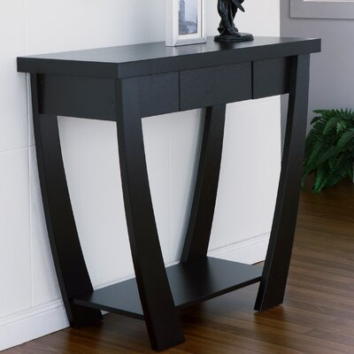 Bonilla Console Table Finish: Black