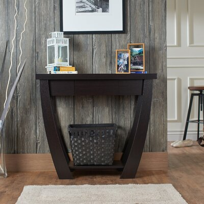 Bonilla Console Table Finish: Cappuccino
