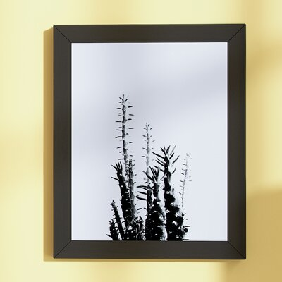 Beckett Cactus Framed Photographic Print Size: 12.5