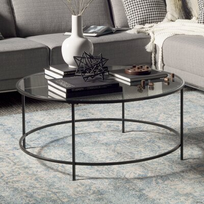 Casanova Coffee Table Color: Black