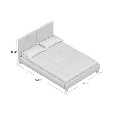 Crestline Upholstered Platform Bed