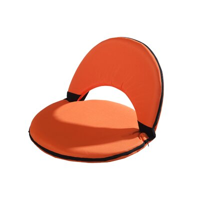 Bonds Foldable Chaise Lounge Fabric: Orange