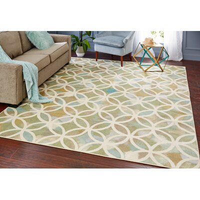 Sorrell Green Indoor Area Rug Rug Size: Rectangle 5 x 8