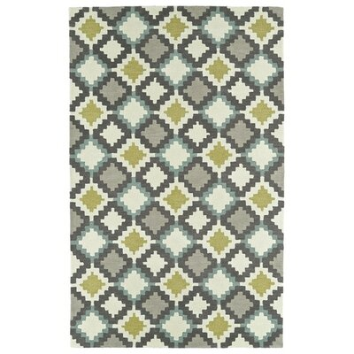 Hinton Charterhouse Hand-Tufted Ivory Area Rug Rug Size: Rectangle 5 x 79