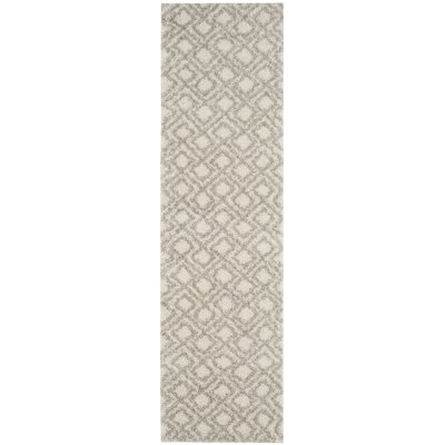 Amicus Ivory/Beige Area Rug Rug Size: Runner 23 x 8