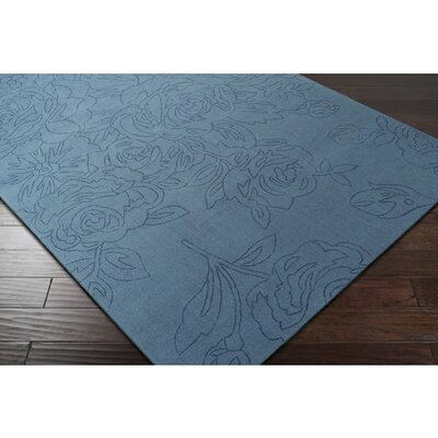 Belle Hand-Loomed Denim Area Rug
