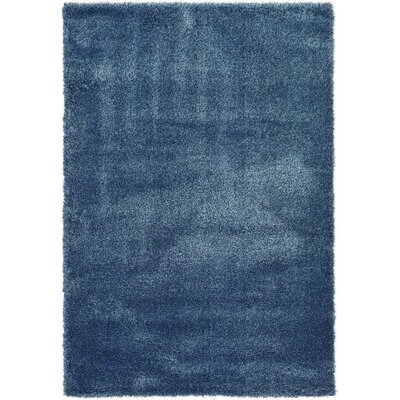 Holliday Navy Blue Area Rug Rug Size: 3 X 3 Round