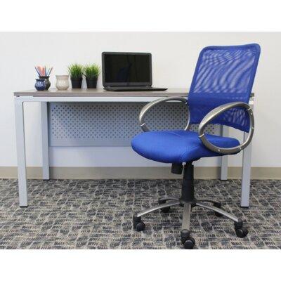 Tenafly Mesh Desk Chair Upholstery: Blue