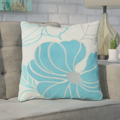 Arete Throw Pillow Color: Blue