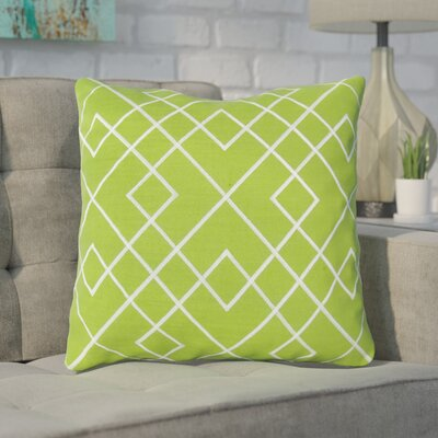 Argos Throw Pillow Color: Green