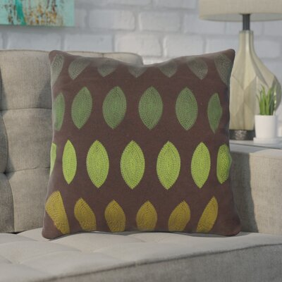 Argus Linen Throw Pillow Color: Green