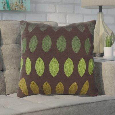 Argus Throw Pillow Color: Green