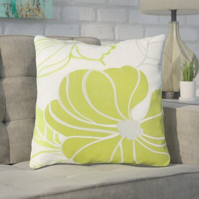 Arete Throw Pillow Color: Green