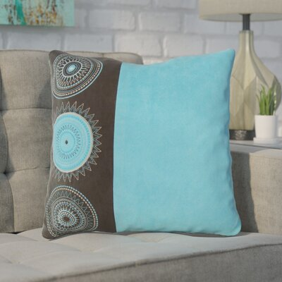 Aretha Throw Pillow Color: Blue