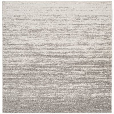 Schacher Gray Area Rug Rug Size: Square 6