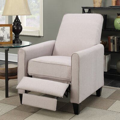Oakely Recliner Upholstery: Beige