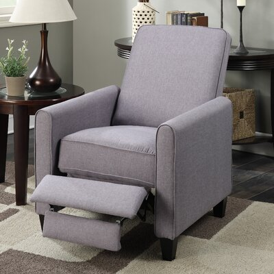 Beauford Recliner Upholstery: Gray