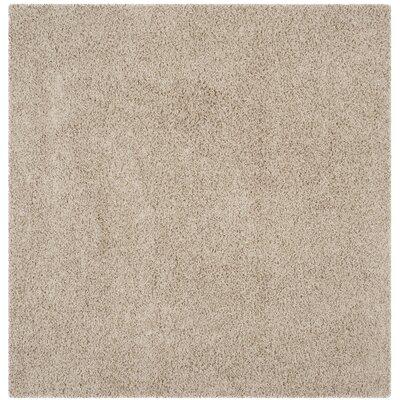 Wilder Beige Area Rug Rug Size: Square 67 x 67