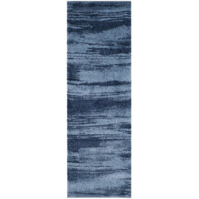 Tenth Avenue Light Blue Area Rug Rug Size: Runner 23 x 11