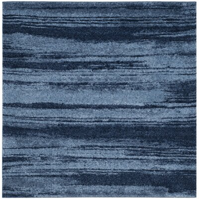 Tenth Avenue Light Blue Area Rug Rug Size: Square 6 x 6