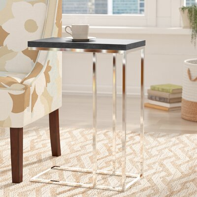 Mclaughlin End Table Finish: Black