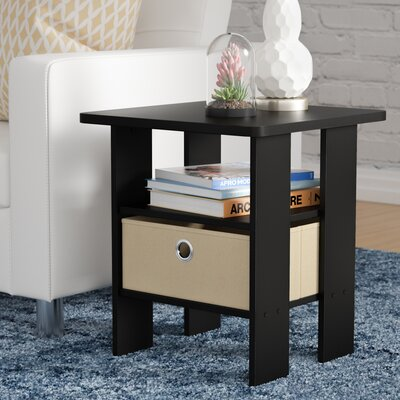 Kenton Petite End Table Finish: Espresso / Brown