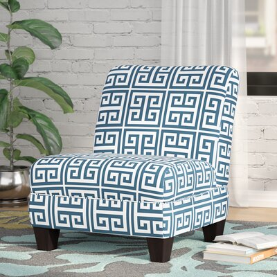 Havertown Slipper Chair Color: Blue