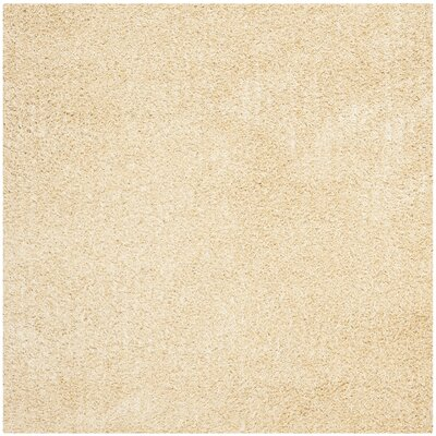 Holliday Creme Area Rug Rug Size: Square 7