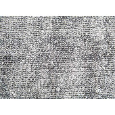 Sara Hand-Woven Gray Area Rug Rug Size: Rectangle 8 x 10