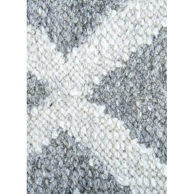 Heinz Gray Indoor/Outdoor Area Rug Rug Size: 2 x 3