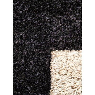 Bohara Hand-Tufted Black/White Area Rug Rug Size: Rectangle 9 x 12