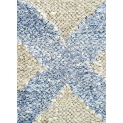 Heinz Blue/Cream Indoor/Outdoor Area Rug Rug Size: 8 x 10