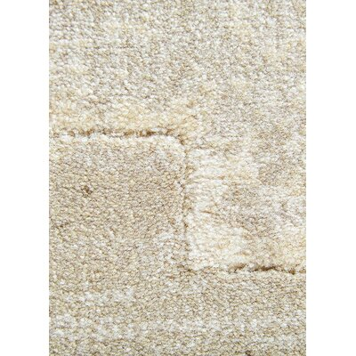 Heiser Taupe/Gray Area Rug Rug Size: 710 x 1010