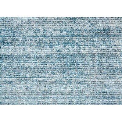 Sara Hand-Woven Blue Area Rug Rug Size: 2 x 3