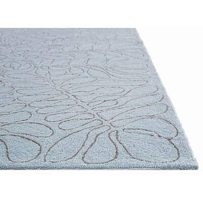Tayah Blue/Tan Indoor/Outdoor Area Rug Rug Size: 2 x 3