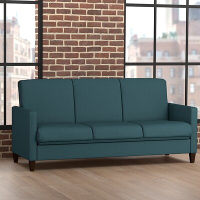 Sevier Futon Sleeper Sofa Color: Caribbean Blue