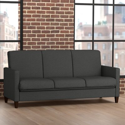 Sevier Futon Sleeper Sofa Color: Charcoal