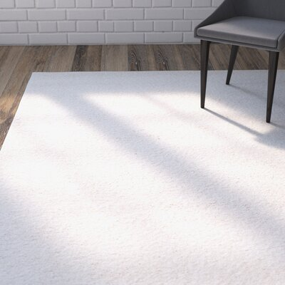 Starr Hill Solid Ivory Area Rug Rug Size: 11 X 16 RECTANGLE