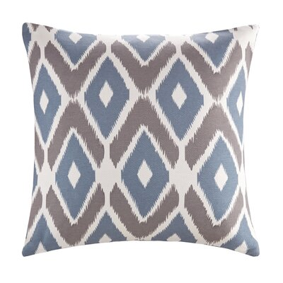 Annamaria Diamond Printed Throw Pillow Color: Navy