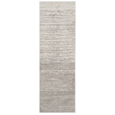 Schacher Gray Area Rug Rug Size: Runner 26 x 8