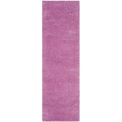 Vandoren Pink Area Rug Rug Size: Runner 23 x 7