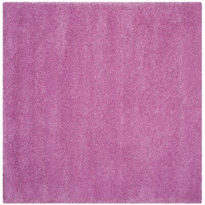Vandoren Pink Area Rug Rug Size: Square 67 x 67