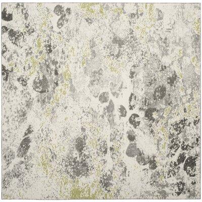 Seybert Beige/Gray Area Rug Rug Size: Square 67