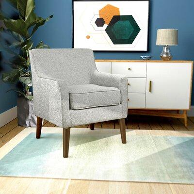 Cicero Street Mid Century Armchair Upholstery: Ash Gray