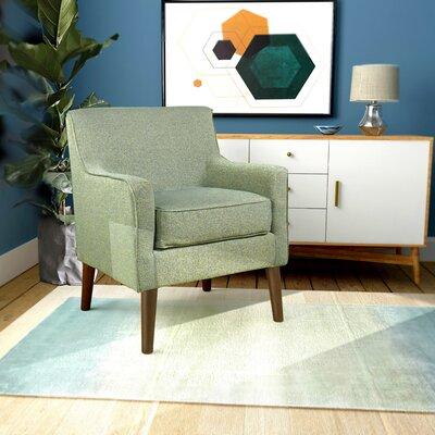 Cicero Street Armchair Upholstery: Teal