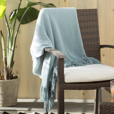 Scarbrough Throw Color: Sage