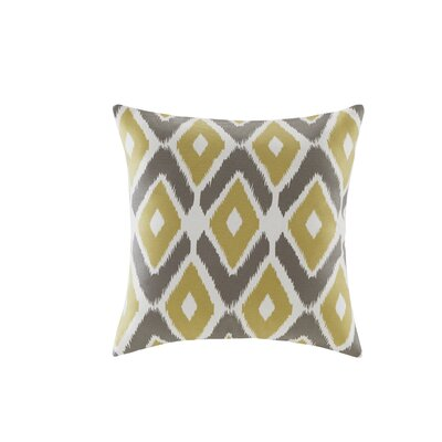 Annamaria Diamond Printed Throw Pillow Color: Yellow