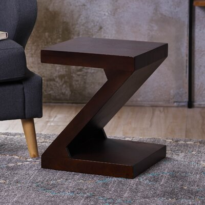 Wiest Wood End Table Color: Brown