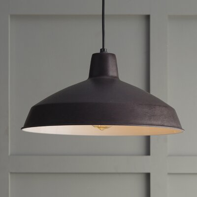 Woodsen 1-Light Inverted Pendant Finish: Old Bronze